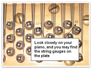 Strings are loosened according to a specific pattern