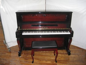 Estey Upright M123 Open Front w/bench
