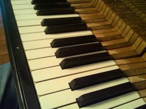 Steinway Upright FS keys