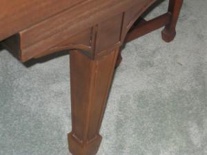 Steinway L leg