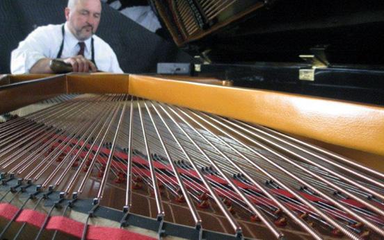 expert piano tuning
